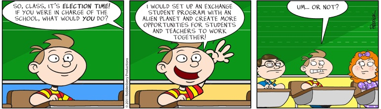 Strip 425: In Charge