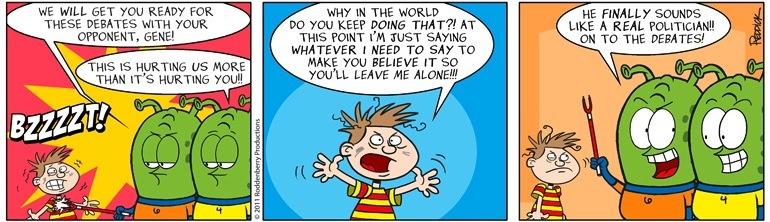 Strip 450: Leave Me Alone