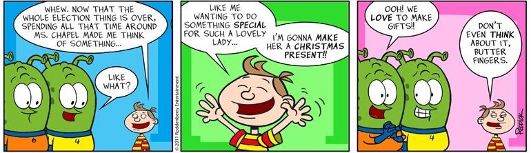 Strip 460: Present