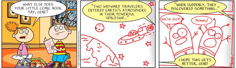 Strip 488: Wayward
