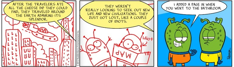 Strip 490: Idiots