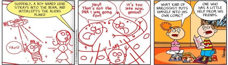 Strip 493: Narcissist
