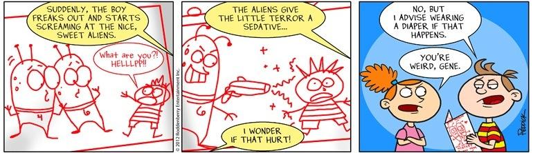Strip 494: Sedative