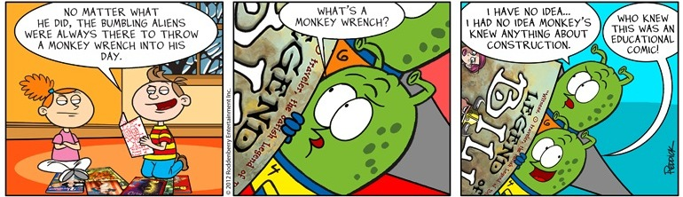 Strip 503: Monkey Wrench