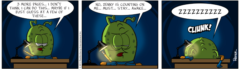 Strip 540: Stay…Awake…