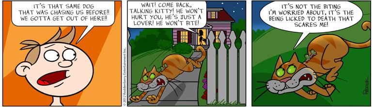 Strip 593: Lick to Death