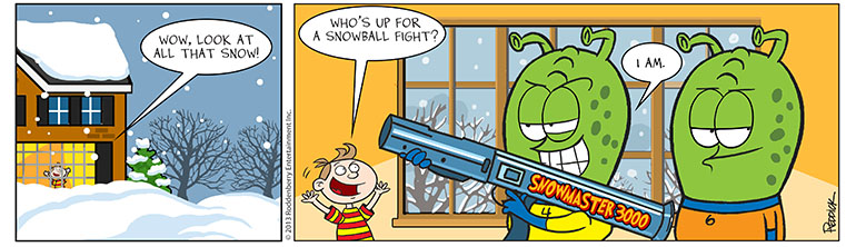 Strip 627: Snowball Fight