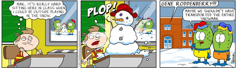 Strip 631: Plop